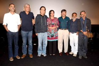 Photo Of Rohan Sippy,Sudhir Mishra,Vidhu Vinod Chopra,Shabana Azmi,Amol Palekar,Deepak Qazir From The Shabana and Amol Palekar at the screening of 'Khamosh'