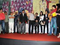 Photo Of Suresh Menon,Vijay Patkar,Atul Parchure,Sanjay Roy,Suresh Shrivastava,Anjan Srivastava,Anupam Kher,Balasaheb Bhapkar,Shashank Bhapkar,Sachin Khedekar,Pramod Joshi From The Premiere of 'Chhodo Kal Ki Baatein' & 'Kashyala Udyachi Baat'