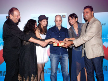 Photo Of Sohrab Ardeshir,Shernaz Patel,Ashwin Mushran,Seema Rehmani,Ash Chandler From The Audio release of 'Love, Wrinkle-free'