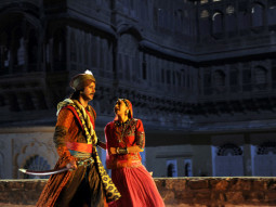 Movie Still From The Film Dangerous Ishhq,Rajneesh Duggall,Karisma Kapoor
