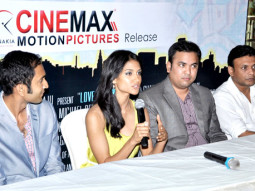 Photo Of Lavrenti Lopes,Melanie Kannokada,Chaitanya Chitta,Arpan Datta From The Press conference of 'Love Lies & Seeta'