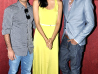 Photo Of Chandra Pemmaraju,Melanie Kannokada,Lavrenti Lopes From The Press conference of 'Love Lies & Seeta'