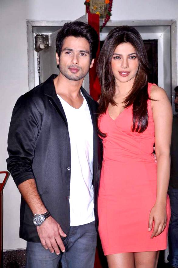 Shahid kapoor and priyanka chopra dating who
