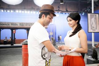 On The Sets Of The Film Teri Meri Kahaani,Kunal Kohli,Prachi Desai