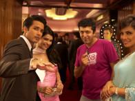 On The Sets Of The Film Teri Meri Kahaani,Shahid Kapoor,Prachi Desai,Kunal Kohli,Priyanka Chopra