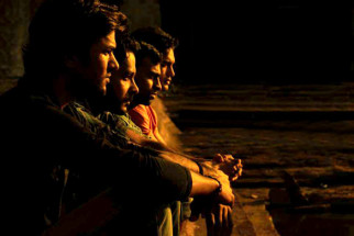 Movie Still From The Film Aalaap,Amit Purohit,Aabid Shamim,Pitobash Tripathy