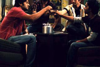 Movie Still From The Film Aalaap,Amit Purohit,Aabid Shamim,Harsh Rajput,Pitobash Tripathy