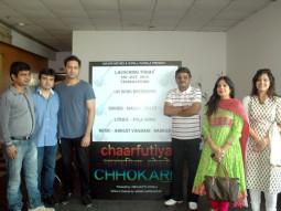 On The Sets Of The Film Chaarfutiya Chhokare Featuring Soha Ali Khan,Harsh Mayar,Seema Biswas,Mukesh Tiwari,Govind Namdev,Suhas Sirsat,Umesh Jagtap