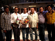 On The Sets Of The Film Mera Naam Chin Chin Choo Featuring