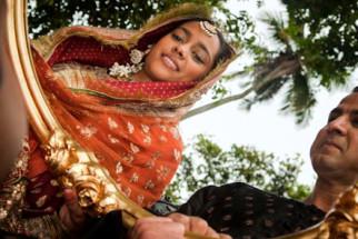 Movie Still From The Film Midnight's Children,Shahana Goswami,Ronit Roy