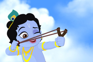 Movie Still From The Film Krishna Aur Kans