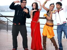 Movie Still From The Film From Sydney With Love,Prateek Chakravorty,Bidita Bag,Evelyn Sharma,Sharad Malhotra