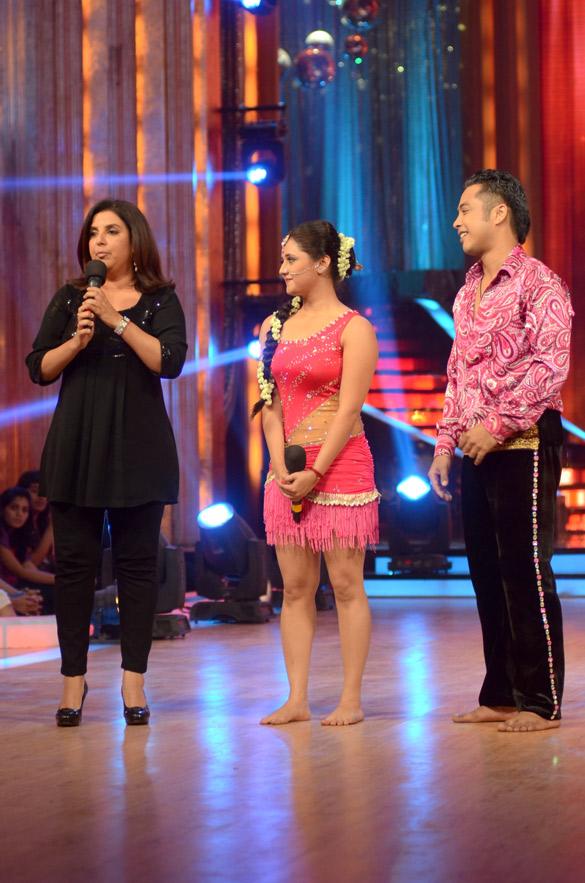 Farah Khan, Rashmi Desai, Deepak