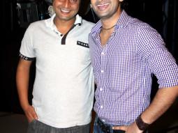 On The Sets Of The Film Love Kiya Aur Lag Gayi,Rahat Kazmi,Vinod Dixit