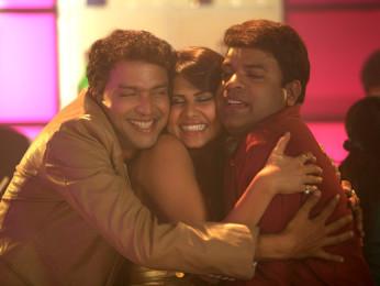 Movie Still From The Film No Entry Pudhe Dhoka Aahey,Bharat Jadhav