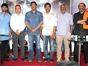 Nani, Sanjeev Lamba, Ajay Devgn, S.S. Rajamouli, M.M.Keeravani, Suresh Babu