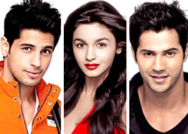 Alia, Sidharth, Varun have their next films lined up