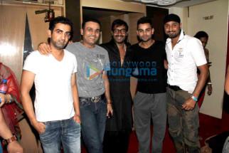Gautam Gambhir, Virender Sehwag, Ajay Devgn, Virat Kohli, Harbhajan Singh