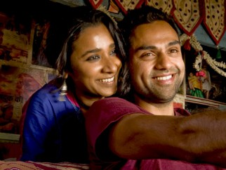 Movie Still From The Film Road, Movie,Tannishtha Chatterjee,Abhay Deol