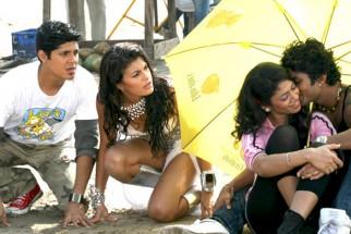 Movie Still From The Film Jaane Kahan Se Aayi Hai,Vishal Malhotra,Jacqueline Fernandez