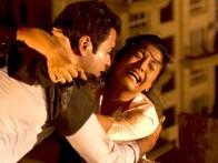 Movie Still From The Film Apartment,Rohit Roy,Tanushree Datta