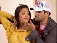 Movie Still From The Film Apartment,Tanushree Datta,Rohit Roy