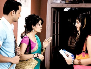 Movie Still From The Film Tum Milo Toh Sahi,Vidya Malvade, Rehan Khan, Anjana Sukhani