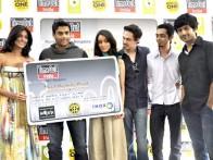Photo Of R Madhavan,Sharadha Kapoor,Siddharth Kher,Dhruv Ganesh,Vaibhav Talwar From Madhavan and Teen Patti cast unveils Timeout Lifestyle card