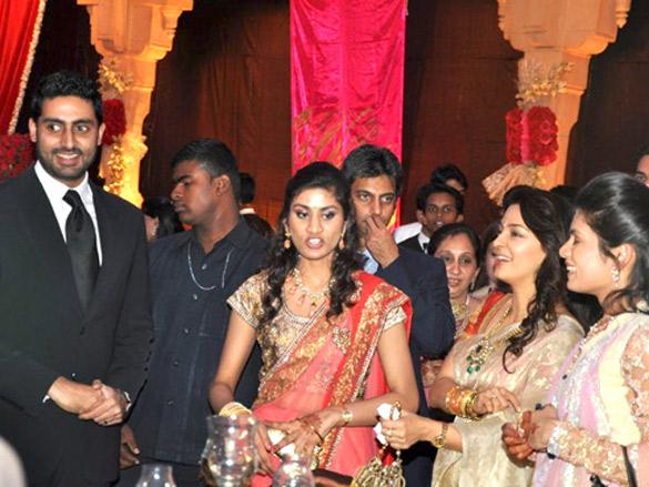 Saurabh Dhoot's wedding reception | Photo Of Abhishek