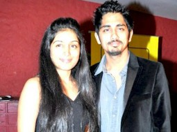 Photo Of Nicollete Bird,Siddharth From The Success party of Striker