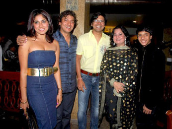 Photo Of Aadesh Shrivastav,Shaan,Vijeyta Pandit From Aadesh Srivastava's birthday bash