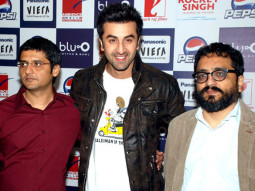 Photo Of Jaideep Sahni,Ranbir Kapoor,Shimit Amin From Press conference of 'Rocket Singh - Salesman Of The Year' in Gurgaon