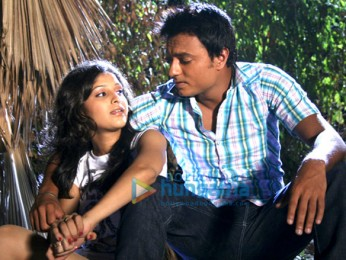 Movie Still From The Film Pyaar Kaa Fundaa Featuring Yugbodh Garewal,Surbhi Shukla