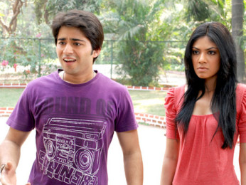 Movie Still From The Film Vroom,Gaurav Bajaj,Nina Sarkar