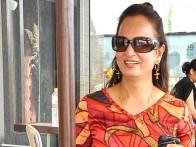 On The Sets Of The Film Society Featuring Om Puri,Paresh Rawal,Randhir Kapoor,Dimple Kapadia,Sarika,Seema Biswas,Javed Jaffrey,Rajviir Singh,Madhur Bhandarkar,Aditya Raj Kapoor,Reema Sen