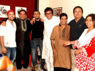 Photo Of Anup Jalota,Sonu Nigam,Talat Aziz,Bhupinder From The Saurabh Daftary and Smita Parekh's mehfil