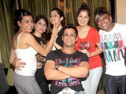 Photo Of Bani,Manpreet Bhatia,Ashwini Rai,Lakshmi Rai,Vikrum Kumar,Perry Patel,Sona Bhatia From The Vikrum Kumar celebrates his birthday