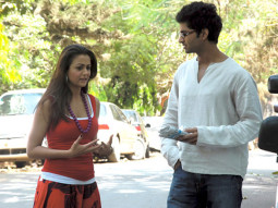 Movie Still From The Film Ek Tho Chance,Amrita Arora, Purab Kohli