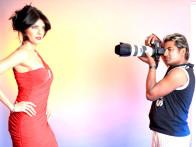 Photo Of Sherlyn Chopra,Vishal Saxena From The Sherlyn Chopra and Claudia Ciesla's photo shoot by photographer Vishal Saxena