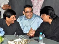 Photo Of Ravi Macchhar,Suniel Wadhwa,Tutu Sharma From The Celebs grace Bhavita Gada's wedding celebration