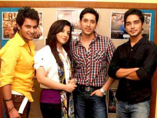 Photo Of Aditya Singh Rajput,Jahan Bloch,Sameer Aftab,Harsh Rajput From The Photo shoot of Krantiveer - The Revolution