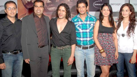 Photo Of Shailendra Singh,Faruque Kabir,Sharman Joshi,Anjana Sukhani,Rukhsar From The First look launch of 'Allah Ke Banday'