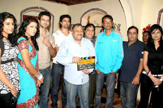 Photo Of Kalpana Mathur,Rajbir Singh,Gagan Kang,Rana Jung Bahadur,Aijaz Ahmed,Aabha Paul From The Mahurat of film 'Who's There'