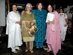 Photo Of Nanda,Waheeda Rehman,Helen,Sadhana From The Helen, Waheeda, Nanda and Sadhna watch 'We Are Family'