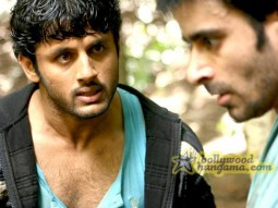 Movie Still From The Fill Agyaat Featuring Nitin Reddy,Gautam Rode