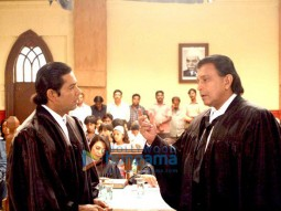 Movie Still From The Film Chal Chalein Featuring Mithun Chakraborty