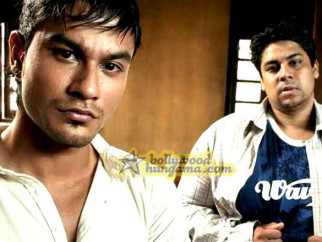 Movie Still From The Film 99 Featuring Kunal Khemu,Cyrus Broacha