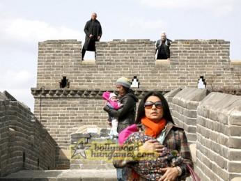 Movie Still From The Film Chni Chowk To China Featuring Gordon Liu,Roger Yuan