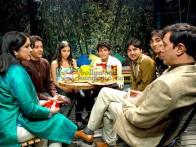 Movie Still From The Film Teree Sang Featuring Neena Gupta,Sheena Shahabadi,Ruslaan Mumtaz