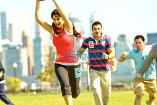 Movie Still From The Film New York Featuring Katrina Kaif,John Abraham